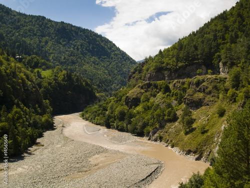Valley in Caucasus