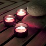Fototapety bougies et galets zen