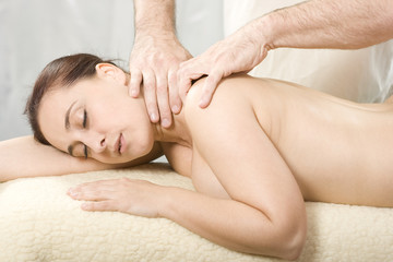 osteopathy and massge