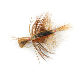 Colorful trout fly-fishing fly