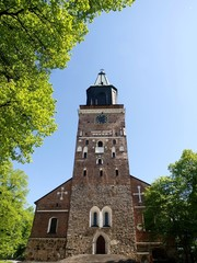 Turku Cathedral in Finland