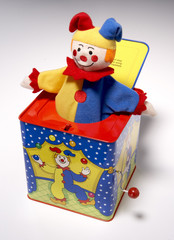 jack in the box, clown