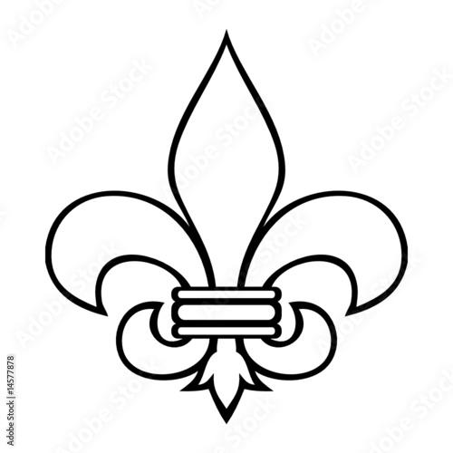 Fleur de lys fichier vectoriel libre de droits sur la banque d 39 images image 14577878 - Dessin fleur de lys royale ...