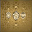 Traditional ottoman turkish seamless tile design