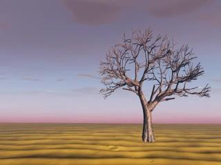 l'arbre mort