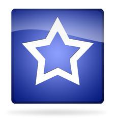 icona stella blu