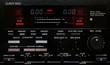 Leinwanddruck Bild - peak level meter von einem cassette deck