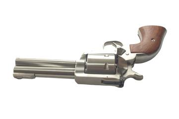 Stainless steel revolver