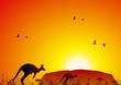 Leinwanddruck Bild Australian landscape