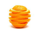 Orange from segments
