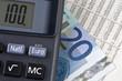 Geld Börsenkurse Taschenrechner