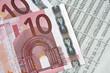 Geld und Börsenkurse