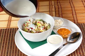 Soup an okroshka