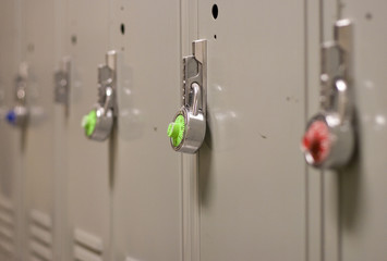 Padlock on Locker