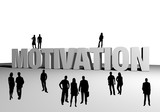 Motivation - young people team business