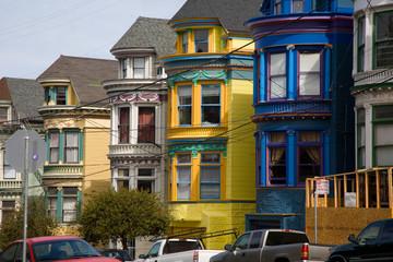 San Francisco, viktorianische Bauten