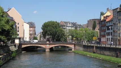 Canal à Strasbourg