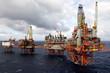 penetration of oil platforms - 14618229