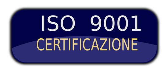 iso 9001 certified in italian