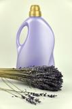 Lavender and Detergent Bottle poster