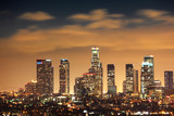 Fototapety Downtown Los Angeles skyline