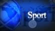 Fond bleu Sport