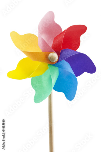 single toy windmill