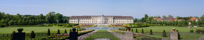 Panoramic palace Ludwigsburg