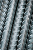 reinforcing bar close-up poster