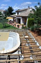 Terrasse et bordure de piscine