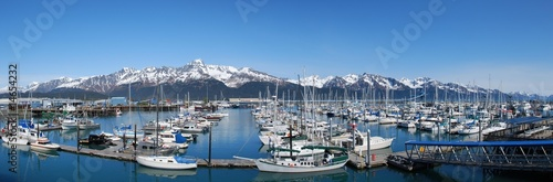 Seward Harbor Alaska wide shot - 14654232