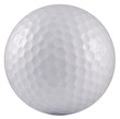 Golf Ball White Background