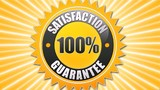 Satisfaction Guarantee poster