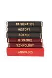 Fototapety School subject books