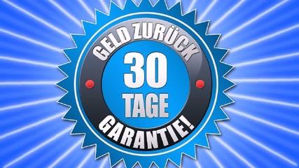 30tage Geldzurück Garantie