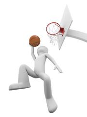 Basketball slamdunk 1