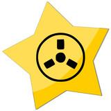 icon e-commerce radioactive poster
