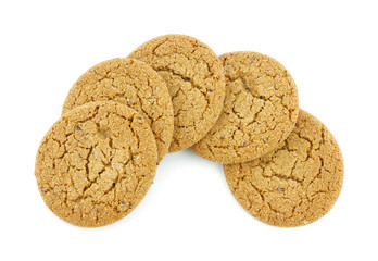 Group molasses cookies