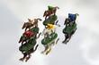 Model Race horses