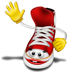Scarpa Ginnastica-Shoe Cartoon-Chaussure Tennis 2