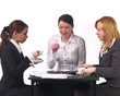 PAL Episode #2, Woman talk at office.