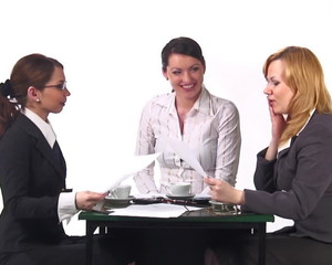 HD Episode #1, Woman talk at office.