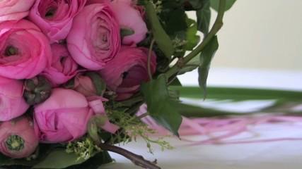 Brautstrauss aus Ranunkeln