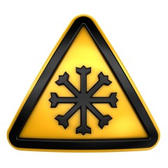 Low temperature sign