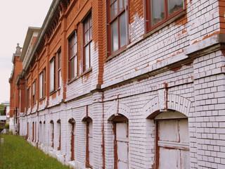 façade en briques pleines