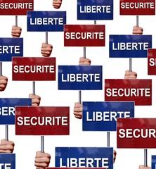 Débat sécurité et liberté