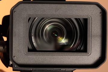 full HD camcorder closeup