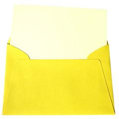 carte et enveloppe de couleurs