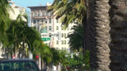 Rodeo Drive time lapse - HD