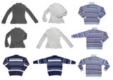 clothing. set of sweater